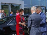 Staatssecretaris Van Ark bij Amega Groep bv Dordrecht