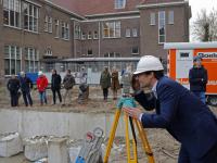 start bouw gymzaal Kolfstraat