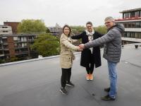Plek schoorsteen Onderwijsmuseum bekend Dordrecht