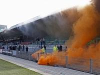 20170405 FC Dordrecht-fans steunen ploeg tijdens belangrijke week Krommedijk Dordrecht Tstolk 006