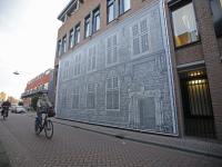 Wand Kloveniersdoelen Doelstraat Dordrecht
