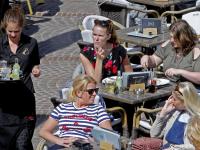Terrasje pakken binnenstad Dordrecht