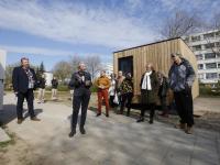 Tiny house locatie crabbehof geopend Dordrecht