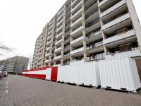 Trivire start grote renovatie flatwoningen Blaauwweg Dordrecht