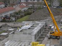Eerste contouren Tromppark zichtbaar Dordrecht