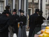 TV opnamens historische binnenstad van Dordrecht
