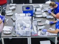 Tweede vaccinatielocatie Oranje Wit hal gestart Dordrecht