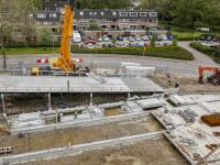Nieuwbouw Winkelcentrum Sterrenburg krijgt vorm Dordrecht