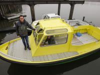 Elektrische werkboot voor Brabo Antwerpen