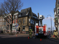 Vallende dakpannen Bolwerk Dordrecht
