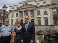 20172905 Groepsfoto bij Stadhuis Dordrecht Tstolk