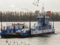Veerpont Kop van het land Dordrecht