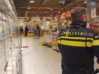 Verdachte steekincident supermarkt aangehouden