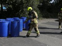 Twaalf verdachte vaten aangetroffen