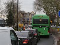 Verkeersdrukte binnenstad Dordrecht