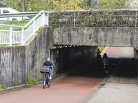 Fietstunnel onder N3 Dordrecht