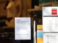 Hema Winkelcentrum Bieshof tot nader gesloten Dordrecht