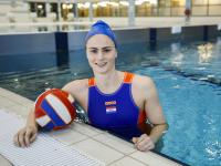 Brigitte Sleeking klaar voor de Olympische spelen in Tokio Sportboulevard Dordrecht Tstolk