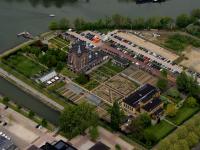 Luchtfoto Villa Augustus Dordrecht