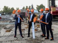 Start bouw Kopgebouw op Leerpark Dordrecht