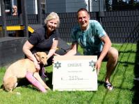 Mooi geldbedrag voor hondje Pippi Dordrecht