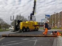 20173003 Vrachtwagen verliest loodzware lading Plantageweg Zwijndrecht Tstolk 003
