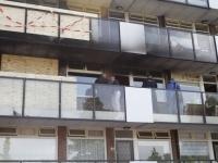 20170206 Derde keer brand in flatwoning in Papendrecht Tstolk 002