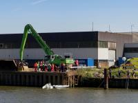 Derde Merwedehaven personen te water Baanhoekweg Dordrecht
