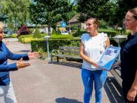 Oorkonde aan zorgpersoneel Het parkhuis Dordrecht
