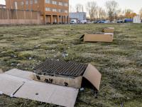Vuurwerk afgestoken voor de 70-jarige Zwarte Crobra Gevangenis Kerkeplaat Dordrecht