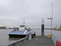 Tijdelijke halte Waterbus Grevelingenweg Dordrecht