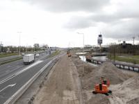 Wegafsluiting van afrit A16 naar de N3 Dordrecht