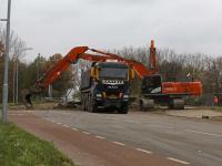 Viaduct boven A16 dicht Simon de Danserweg
