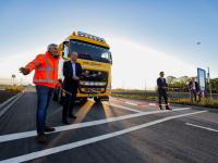 Opening wegen naar DistriPark Dordrecht