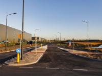 Opening wegen naar DistriPark Aquamarijnweg Dordrecht