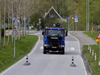 20181604 Automobilisten opgelet ivm wegversmalling  Schenkeldijk Dordrecht Tstolk 001