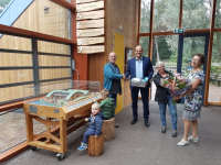100.000ste bezoeker Duurzaamheidscentrum Weizigt