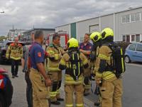 Werknemers onwel , brandweer heeft metingen verricht