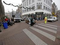 werkzaamheden aan Visbrug centrum Dordrecht