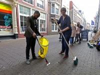 20173003 Veegactie ondernemers Dordt Schoon Voorstraat Dordrecht Tstolk