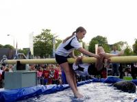Boegsprietgevecht basisscholen Dubbeldam Dordrecht