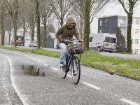 Wintersweer in April Noordendijk Dordrecht