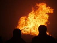 Vreugde vuur Zuidendijk Dordrecht
