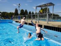 Lekker zwemweer Wantijbad Dordrecht