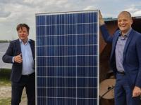 Zonnepark Transberg met 22.000 zonnepanelen klaar Dordrecht