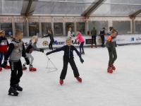 Heerlijk schaatsen op ijsbaan Papendrecht